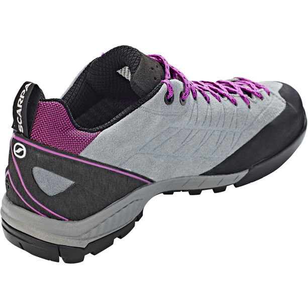 Scarpa Epic GTX Shoes Dam metal gray-fuxia