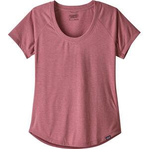 Patagonia Cap Cool Trail SS Shirt Dam star pink star pink
