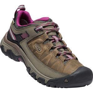 Keen Targhee III WP Shoes Dam weiss/boysenberry weiss/boysenberry