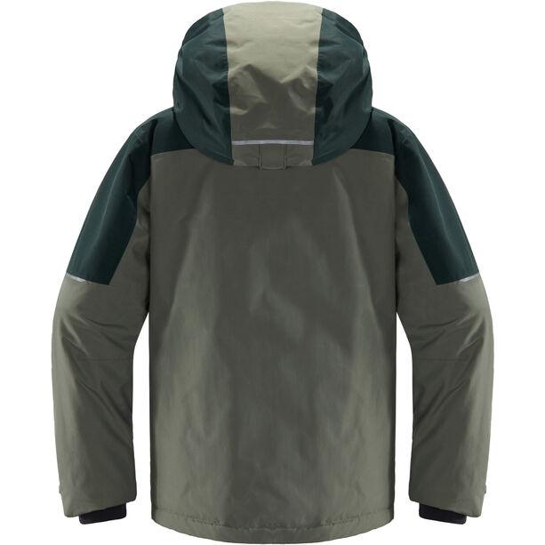 Haglöfs Niva Insulated Jacket Ungdomar Agave Green/Mineral