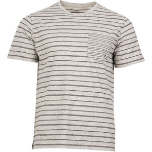United By Blue Standard Stripe SS Tee Herr grey grey