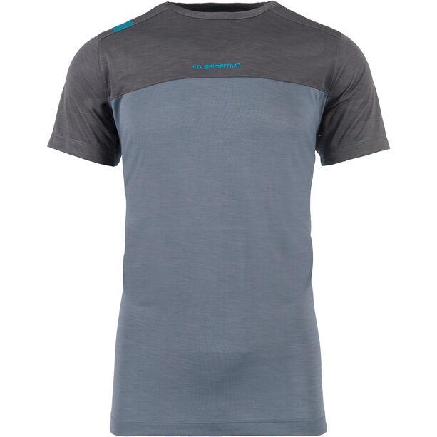 La Sportiva Crunch T-shirt Herr slate/carbon