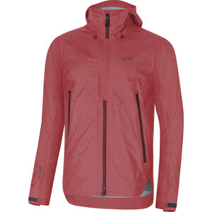 GORE WEAR H5 Gore-Tex Active Hooded Jacket Herr red/chestnut red red/chestnut red