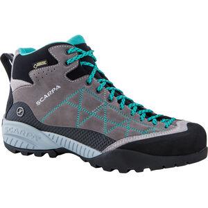 Scarpa Zen Pro Mid GTX Shoes Dam midgray-lagoon midgray-lagoon
