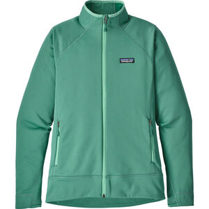 Patagonia Crosstrek Fleece Jacket Dam beryl green beryl green