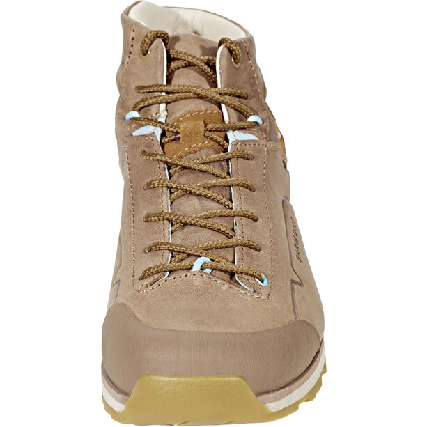 Garmont Miguasha Nubuk GTX Mountaineer Shoes Dam beige/light blue beige/light blue