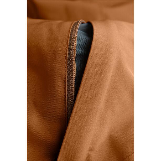 Peak Performance Maroon Long Jacket Herr Honey Brown