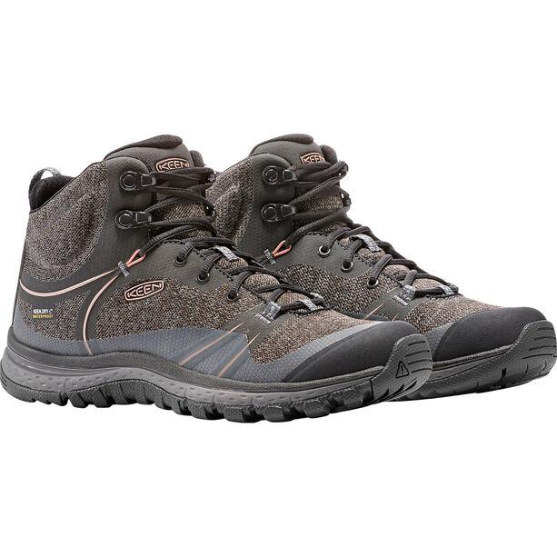 Keen Terradora WP Mid Shoes Dam raven/rose dawn