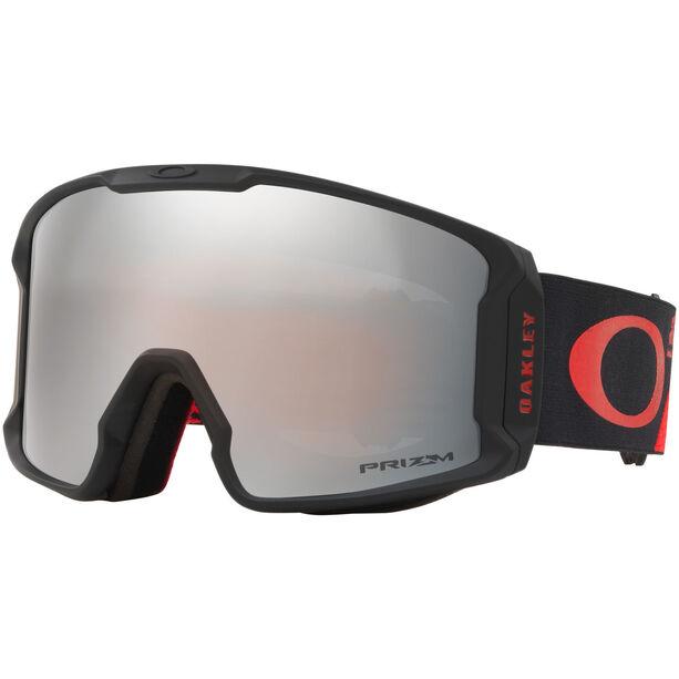 Oakley Line Miner Snow Goggles Herr shredbot red black/prizm snow black iridium
