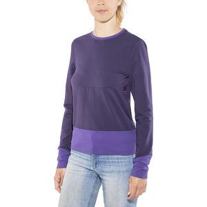 E9 Kat Fleece Jacket Dam purple purple