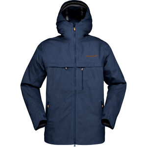 Norrøna Svalbard Cotton Jacket Herr indigo night indigo night