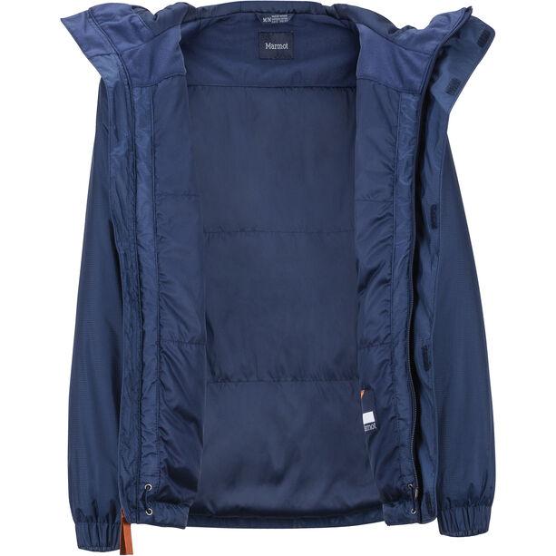 Marmot PreCip Eco Insulate Jacket Pojkar arctic navy/ember