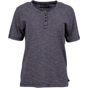 United By Blue Mull Stripe Henley Dam navy navy
