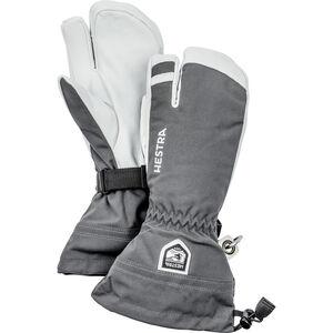 Hestra Army Leather Heli 3-Finger grå grå