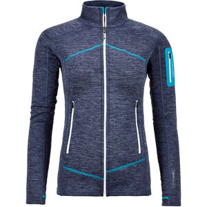 Ortovox Melange Fleece Jacket Light Dam night blue night blue
