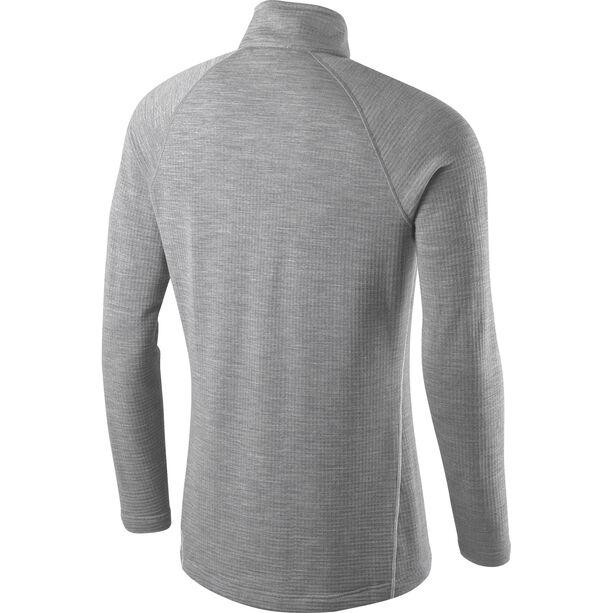 Houdini Wooler Half Zip Sweater Herr college grey/haze
