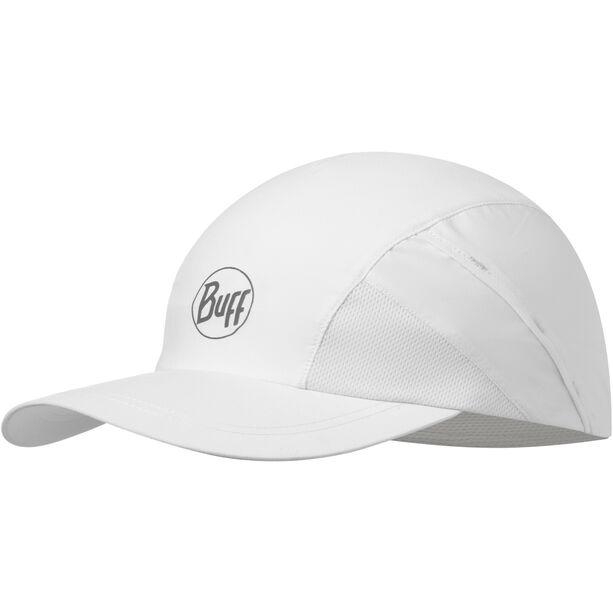 Buff Pro Run Cap reflective-solid white