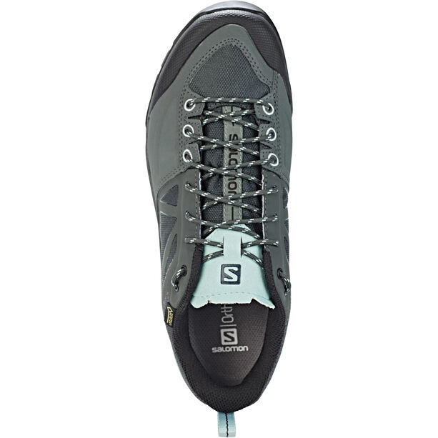 Salomon X Alp SPRY GTX Shoes Dam balsam green/urban chic/canal blue