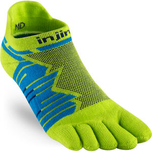 Injinji Ultra Run No-Show Socks No-Show Lime Lime