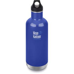 Klean Kanteen Classic Vacuum Insulated Bottle Loop Cap 946ml coastal waters coastal waters
