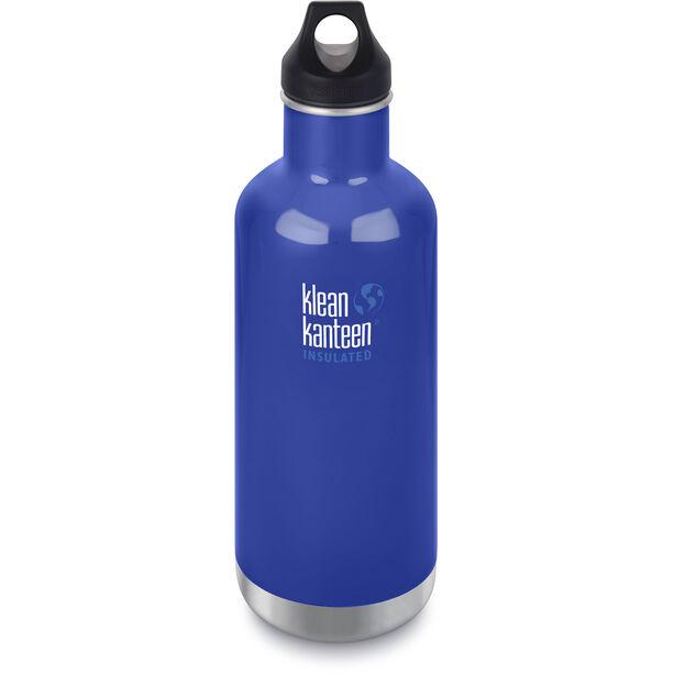 Klean Kanteen Classic Vacuum Insulated Bottle Loop Cap 946ml coastal waters