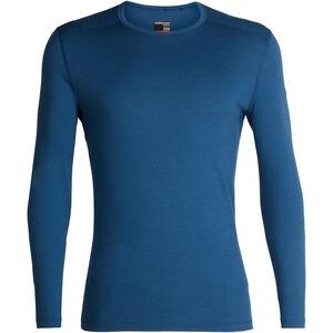 Icebreaker 200 Oasis LS Crewe Shirt Herr prussian blue prussian blue