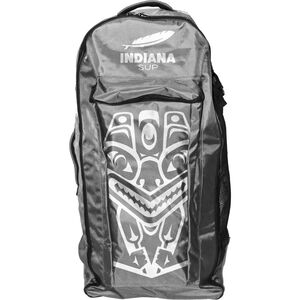 Indiana SUP Classic Backpack with Wheels grey grey