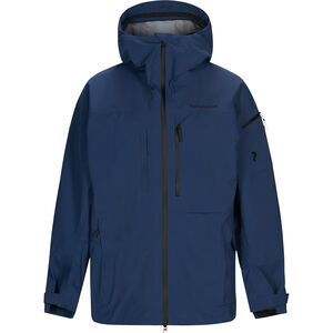 Peak Performance Alpine Jacket Herr Decent Blue Decent Blue