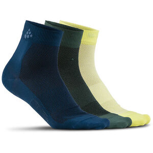 Craft Greatness Mid Socks 3-Pack nox/shore nox/shore