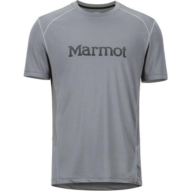 Marmot Windridge SS Shirt with Graphic Herr cinder