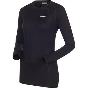 Bergans Fjellrapp Shirt Dam Black Black