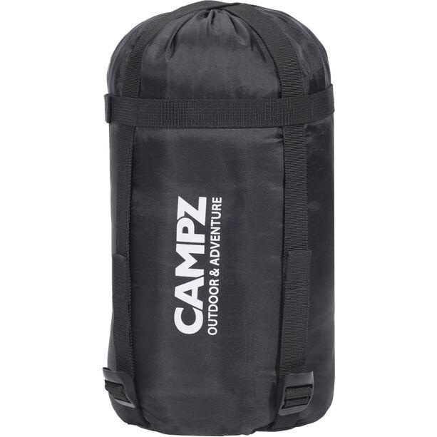 CAMPZ Trekker Light 300 Sleeping Bag anthracite/red