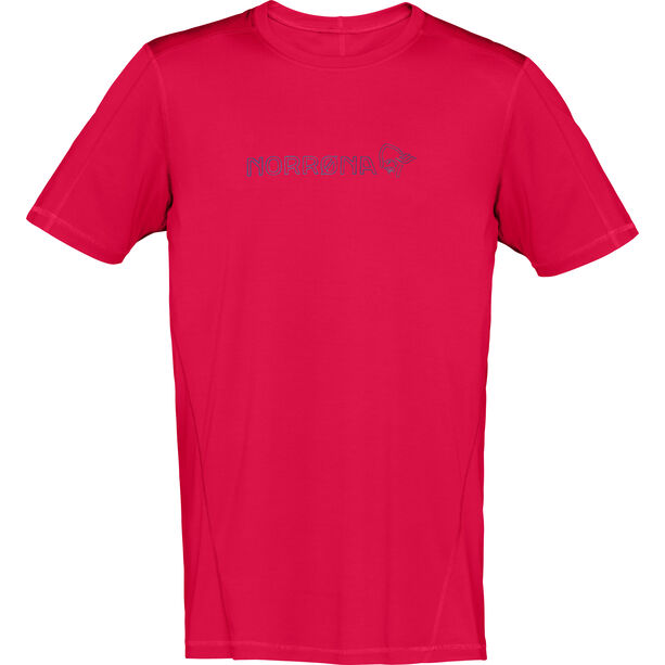 Norrøna /29 Tech T-shirt Herr jester red