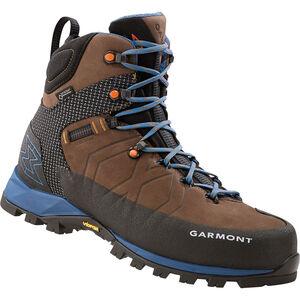 Garmont Toubkal GTX Boots Herr dark brown/blue dark brown/blue
