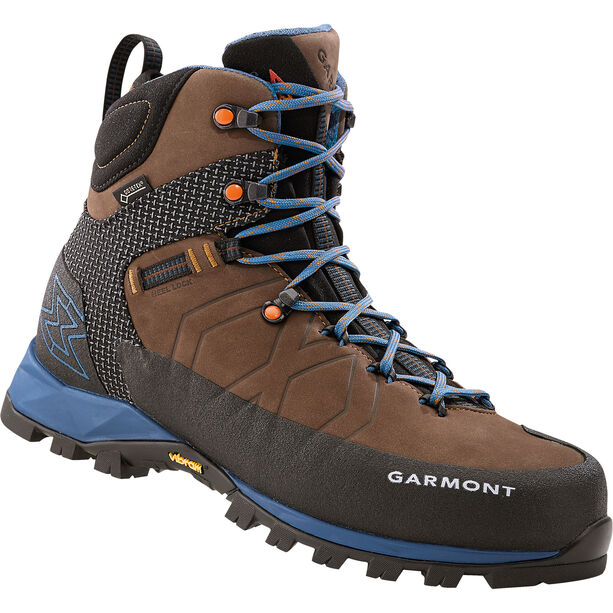 Garmont Toubkal GTX Boots Herr dark brown/blue