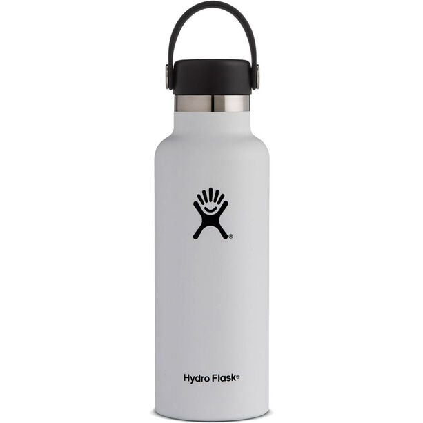 Hydro Flask Standard Mouth Flex Bottle 532ml white