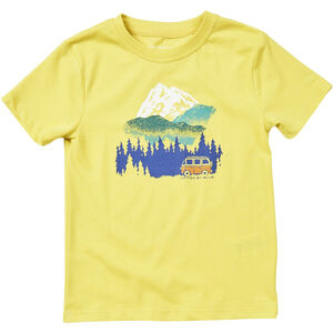 United By Blue Get Away Ride SS Graphic Tee Barn citron yellow citron yellow