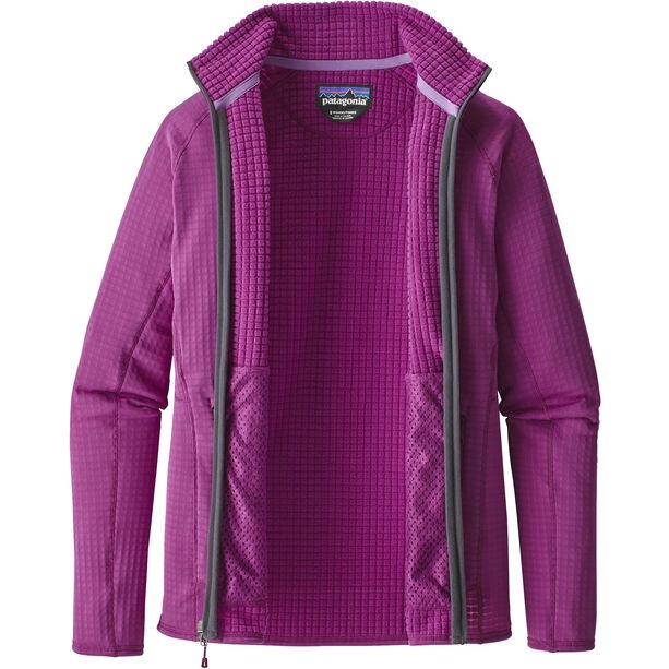 Patagonia R2 Full-Zip Jacket Dam ikat purple