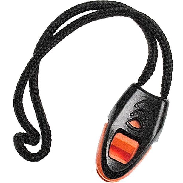Swimrunners Whistle for wetsuit zipper black