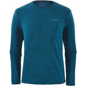 Patagonia Cap Cool Daily Graphic Long Sleeve Shirt Herr boardshort logo/big sur blue x-dye boardshort logo/big sur blue x-dye