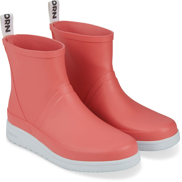 Tretorn Viken II Low Rubber Boots Dam coral