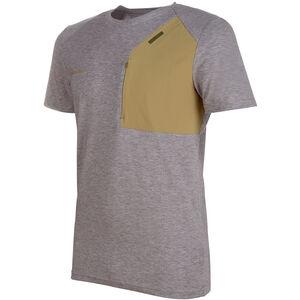Mammut Crashiano Pocket T-Shirt Herr Shark Melange-Boa Shark Melange-Boa