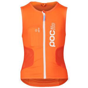 POC POCito VPD Air Protector Vest Barn fluorescent orange fluorescent orange