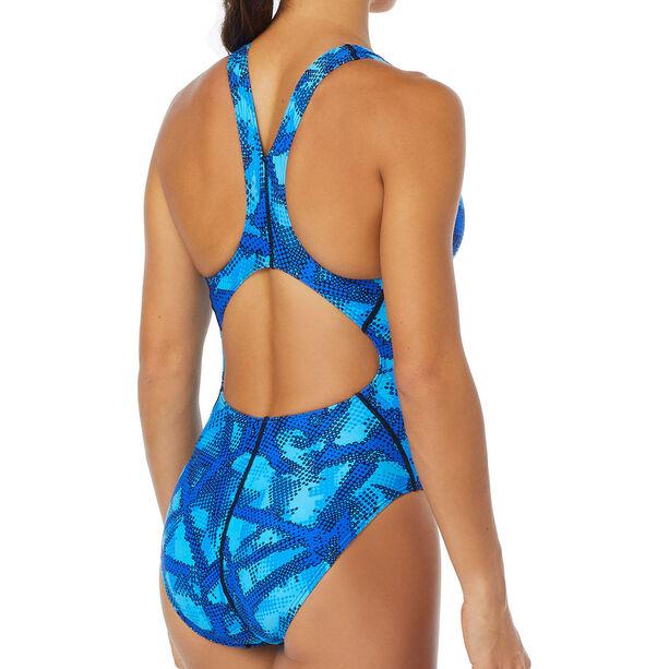 TYR Vesuvius Maxfit Swimsuit Durafast One Dam blue