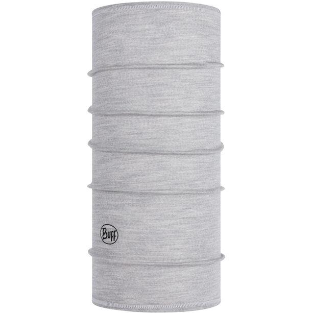 Buff Lightweight Merino Wool Neckwarmer Barn solid light grey