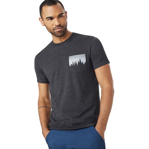 tentree Juniper Pocket T-Shirt Herr meteorite black
