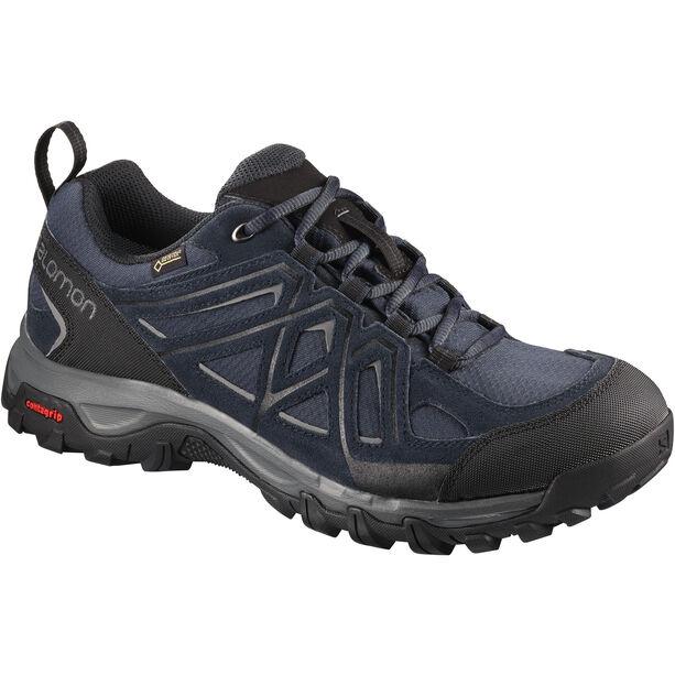Salomon Evasion 2 GTX Shoes Herr graphite/night sky/quiet shade