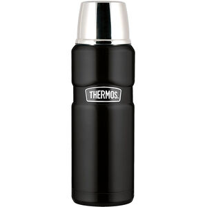 Thermos Stainless King Thermos 1,2 L matt black matt black