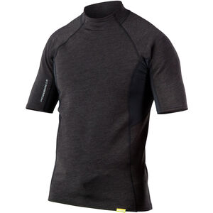 NRS HydroSkin 0.5 S/S Shirt Herr charcoal heather charcoal heather