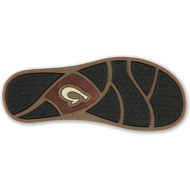 OluKai Mohalu Fisherman Shoes Herr teak/teak